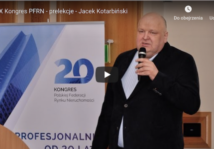 XX Kongres PFRN – prelekcje – Jacek Kotarbiński