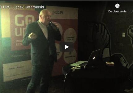 GO UPS – Jacek Kotarbinski