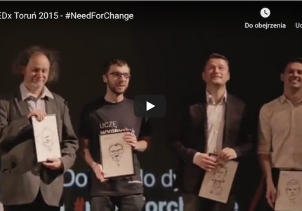 TEDx Toruń 2015 – #NeedForChange