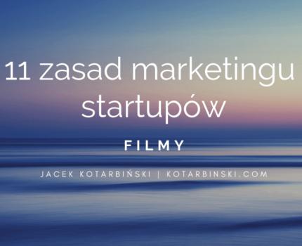 11 zasad marketingu startupów