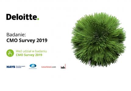 Zapraszam naCMO Survey 2019: priorytety ikluczowe potrzeby liderów marketingu