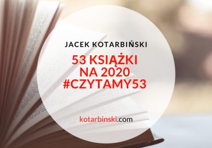53 książki na2020 #Czytamy53