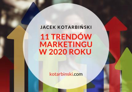 11 trendów marketingu w2020 roku