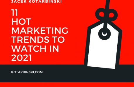 11 Hot Marketing Trends to watch in 2021